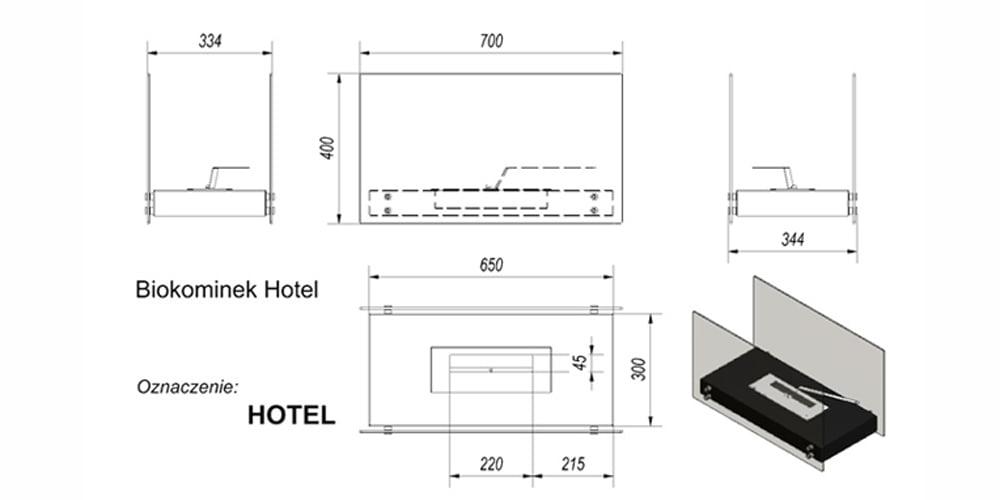 Hotel cxema