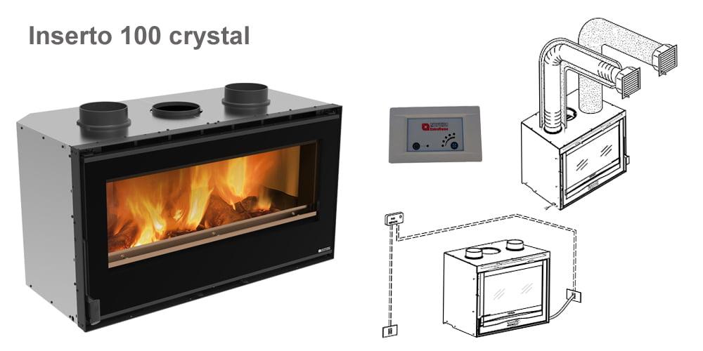 Inserto 100 crystal
