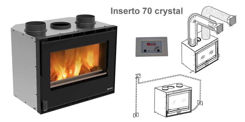Inserto 70 crystal