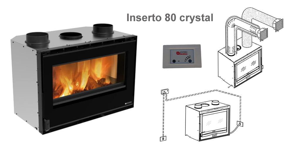 Inserto 80 crystal