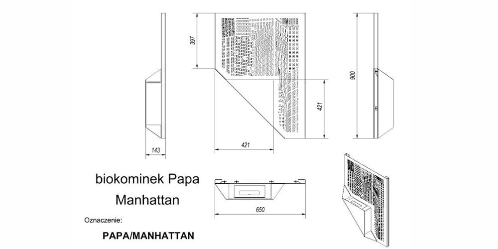 Papa Manhattan cxema